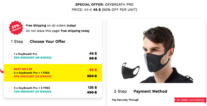 order OxyBreath Pro Singapore