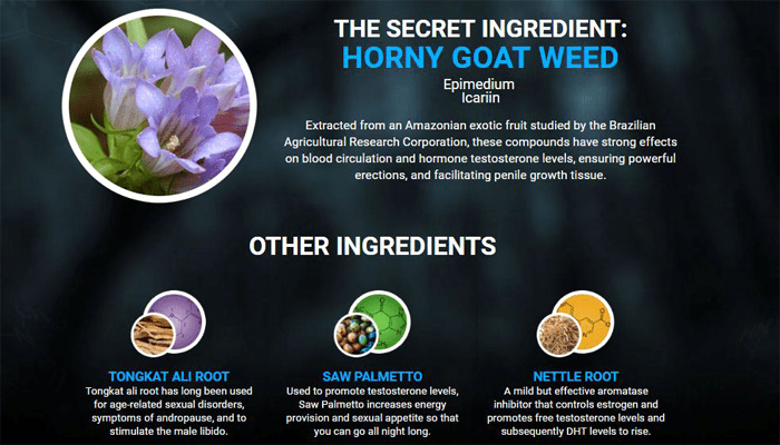 TestoUltra ingredients