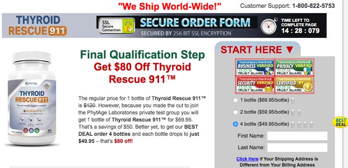 order thyroid rescue 911