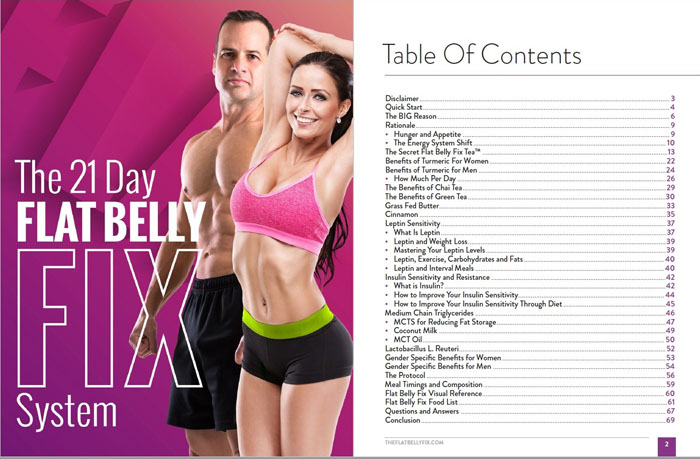 the 21 day flat belly fix pdf review