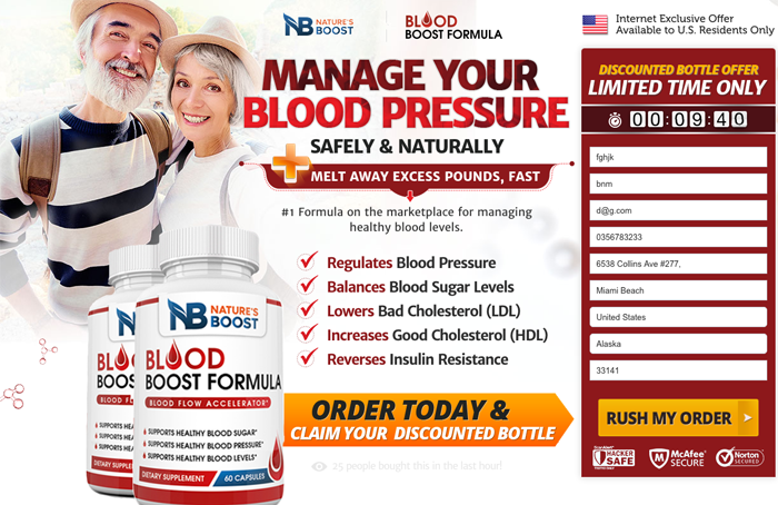 Nature's Boost Blood Formula Review